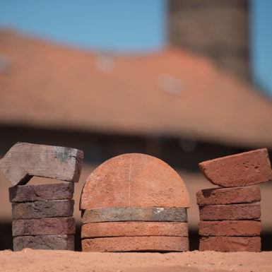 Various shapes of brick