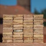 Bricks Canne geel brons gesinterd handvorm ysselsteen